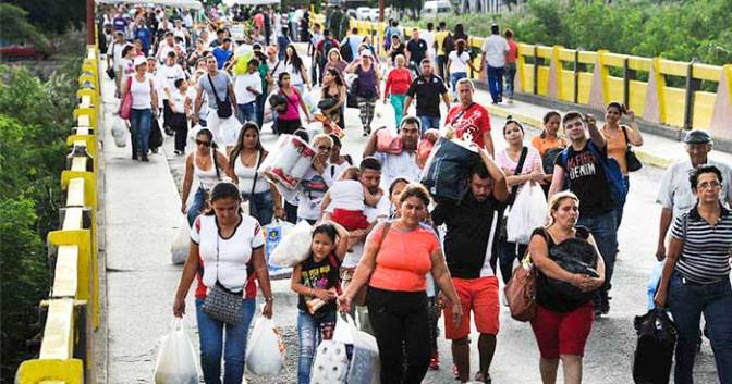 Venezuelan migrants pose humanitarian problem in Brazil
